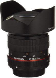 porte filtre pour samyang 14mm