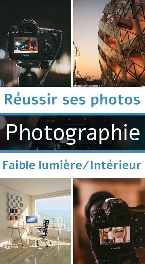 photo en intérieur et basse lumière