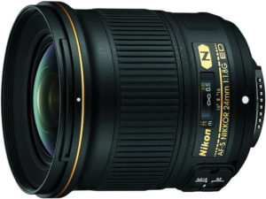 le grand angle Nikon AF-S 24mm f:1.8G