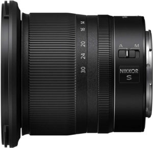 wide angle nikon for mirrorless camera