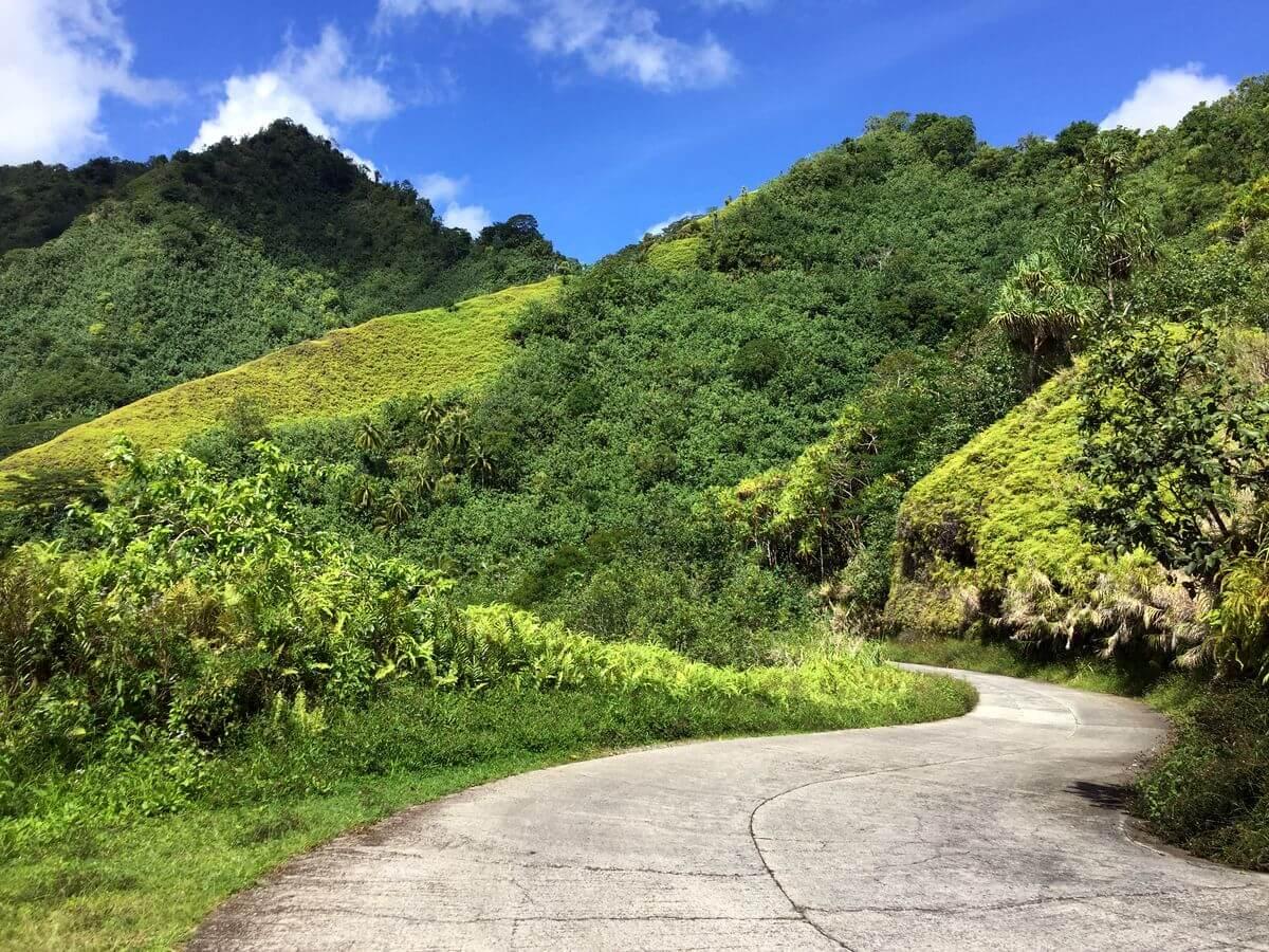 scenery of nuku hiva island