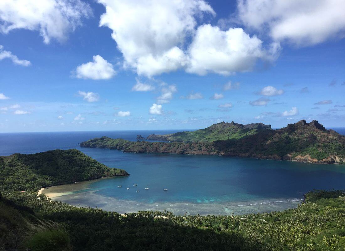 bay on nuku hiva