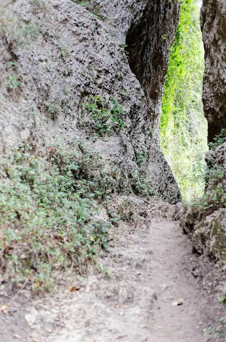 canyon dans mourèze