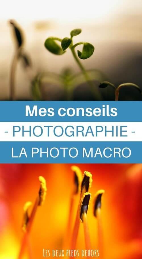 conseils pour macrophotographie