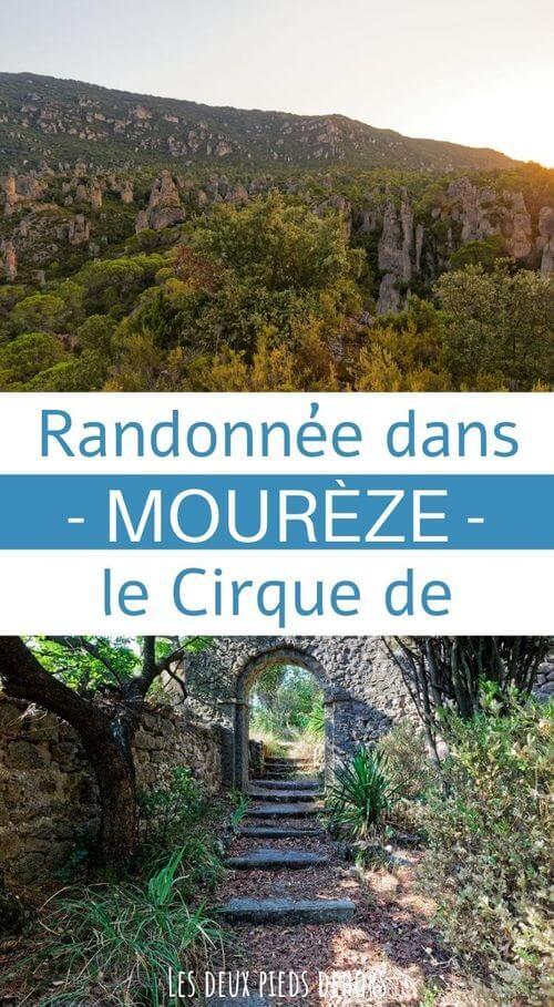 randonnée au cirque de mourèze