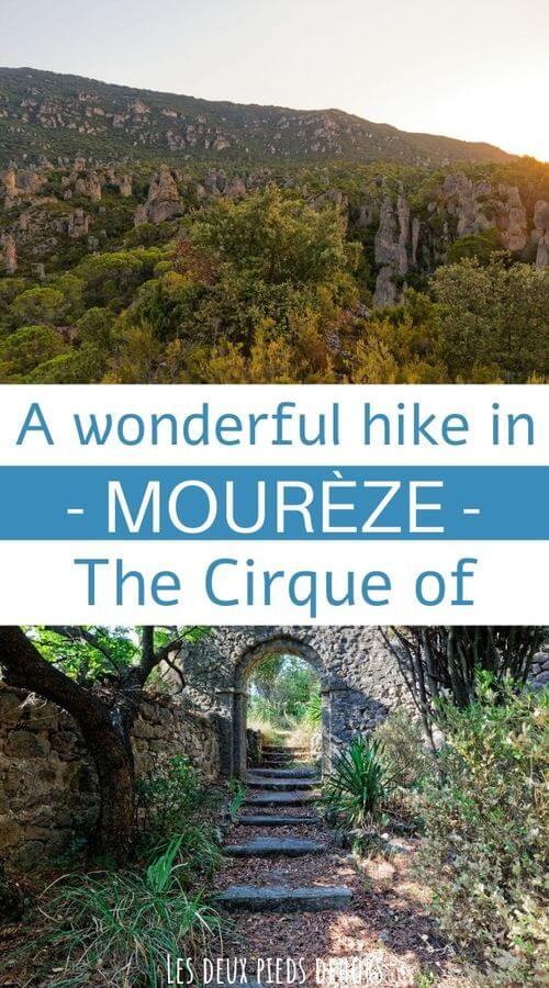 hike to the cirque of mourèze