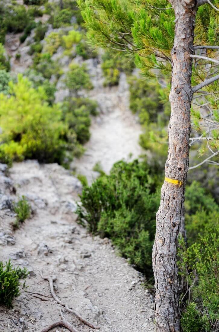 randonnée à mourèze