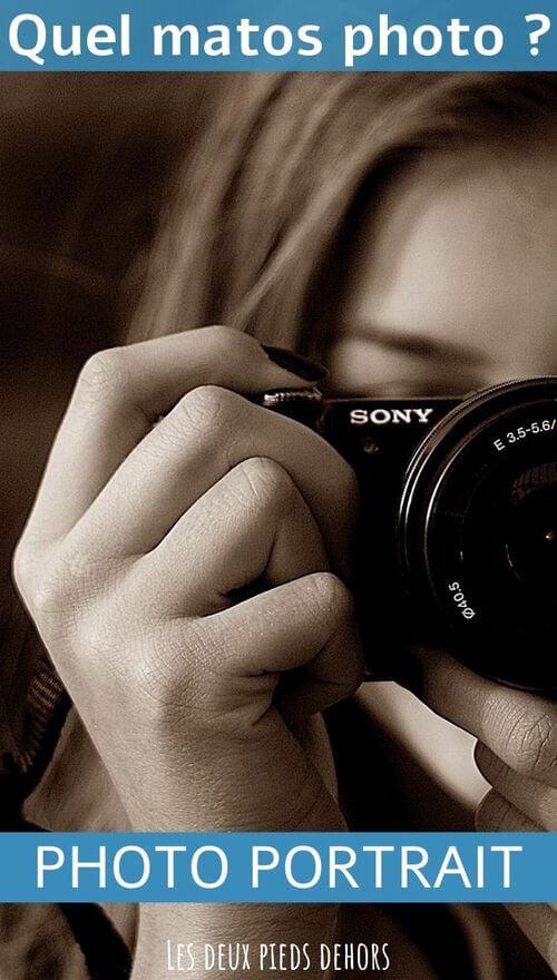 quel matériel pour la photo de portrait