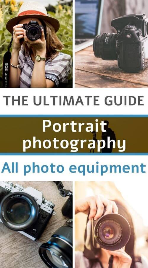 camera body and lens for portrait photography