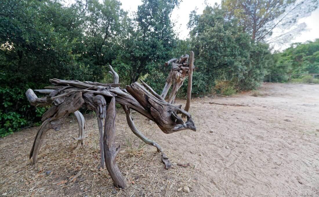 sculpture mourèze