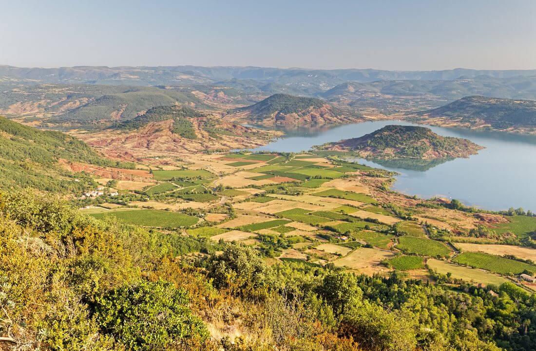 vue mont liausson mourèze