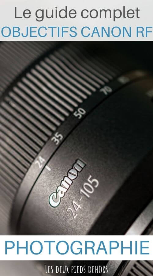 objectifs Canon RF photographie
