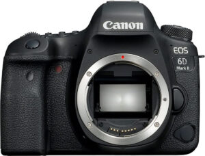 choose a dslr camera as the canon 6D mark II