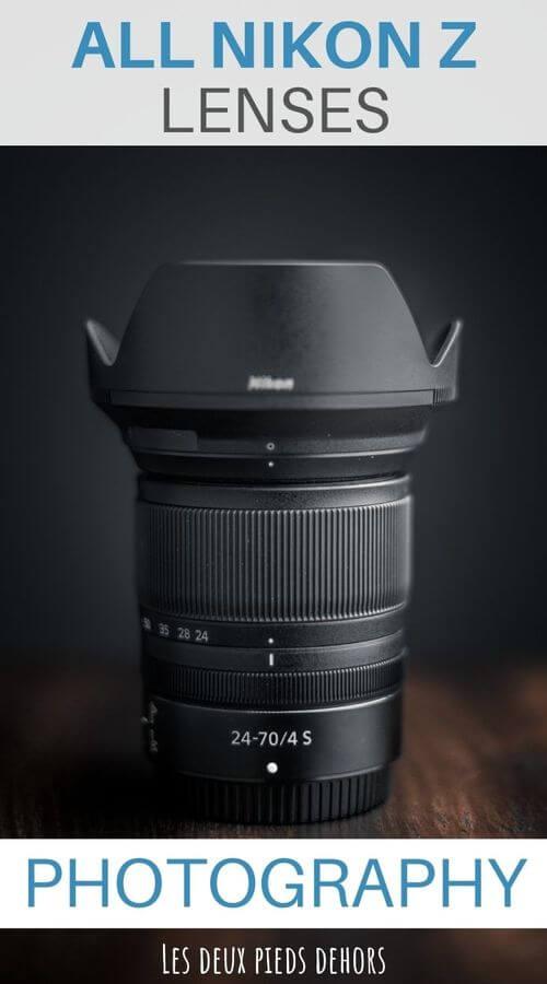 choose lense for Nikon Z