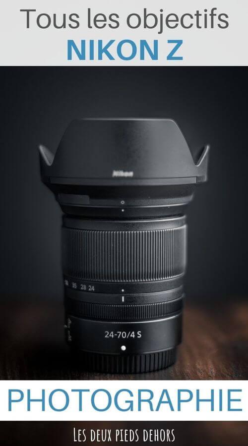 objectifs Nikon Z pour hybride Full-Frame
