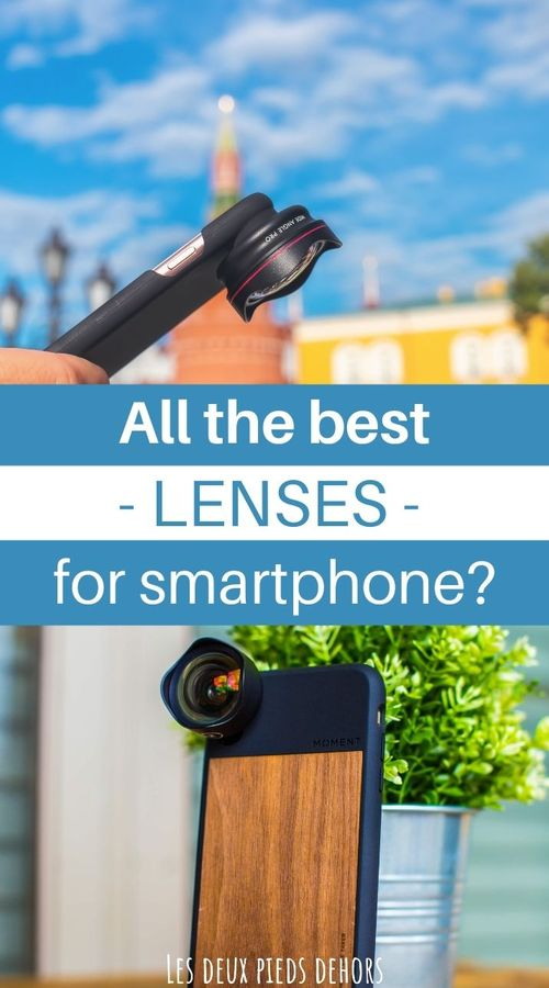 Lenses for smartphones