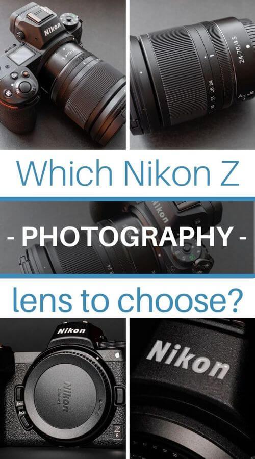 Mirrorless Full-Frame Nikon Z lenses
