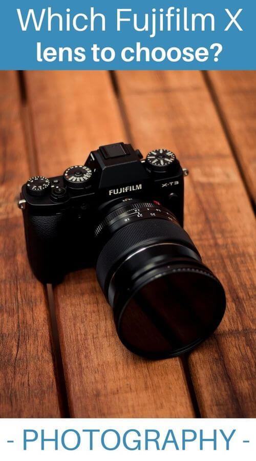list lenses fujifilm x