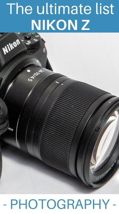 lenses for Nikon Z photo