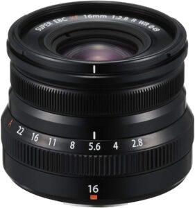 objectif Fujinon XF 16mm f:2.8 R WR