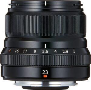 objectif Fujinon XF 23mm f:2 R WR