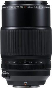 objectif Fujinon XF 80mm f:2.8 R LM OIS WR macro