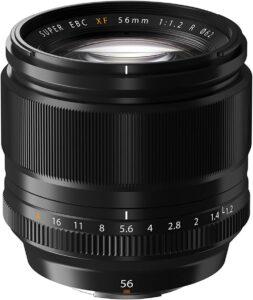 objectif fujifilm XF 56mm f:1.2 R