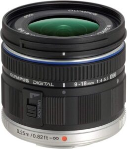 olympus 9-18mm f:4-5.6 grand angle micro 4:3