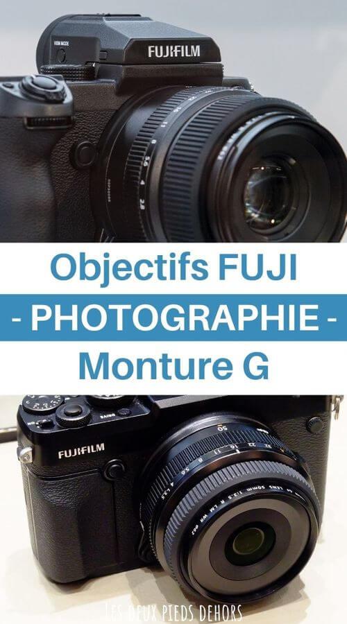 monture fujifilm g objectifs photo