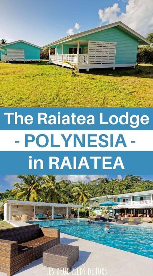 a few days at the raiatea lodge