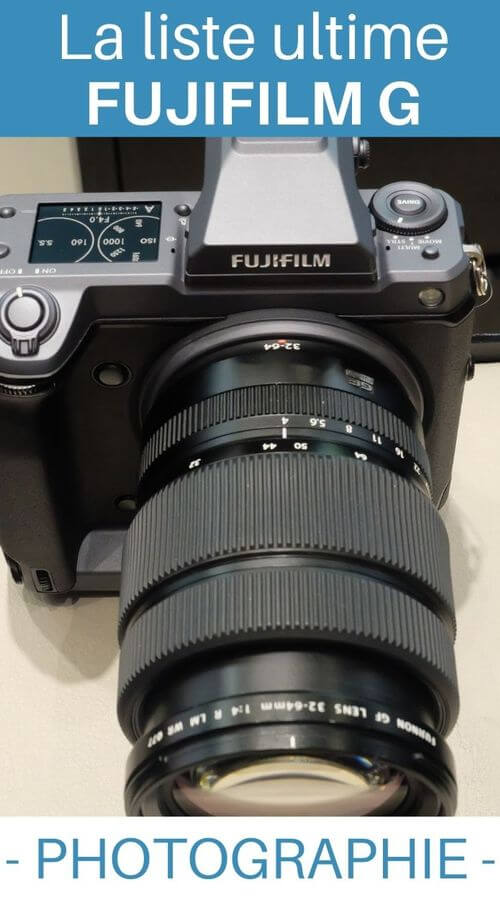 choisir objectif photo fuji g