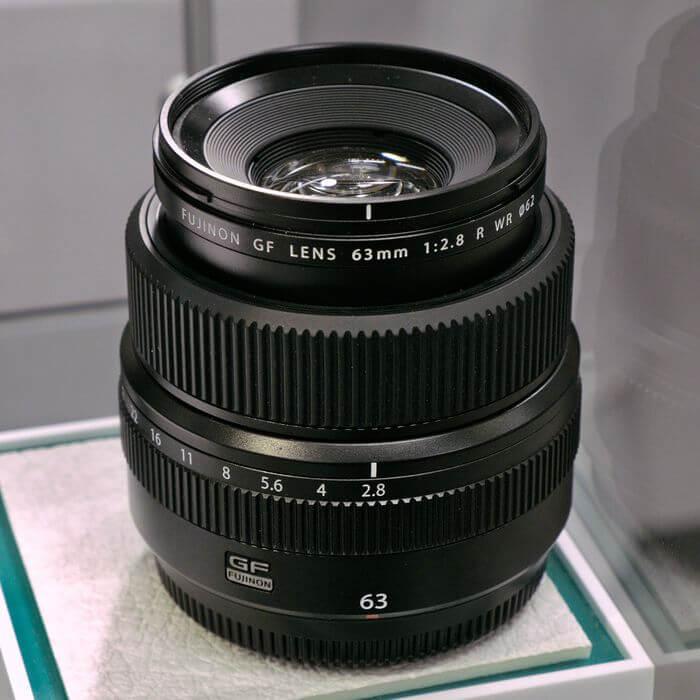 list of fujifilm G mount lenses, medium format