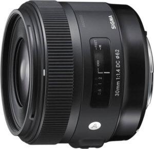 Sigma DC HSM Art 30mm f1.4 pour aps-c