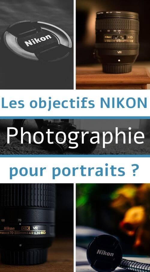objectifs nikon portraits