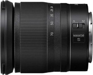 nikon Z 24-70mm f:4 S pour le portrait