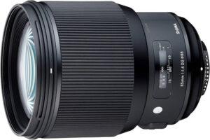 shooter portrait avec le sigma 85mm f:1.4 pour nikon