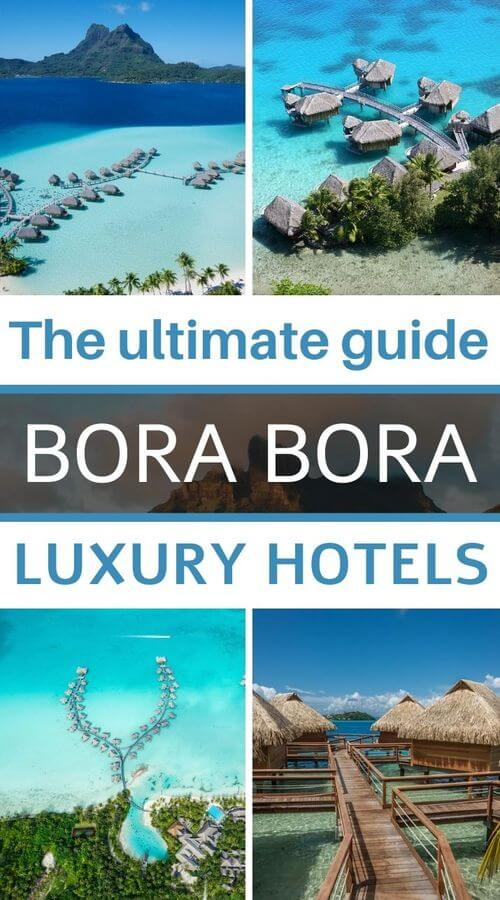 choose your hotel in bora bora