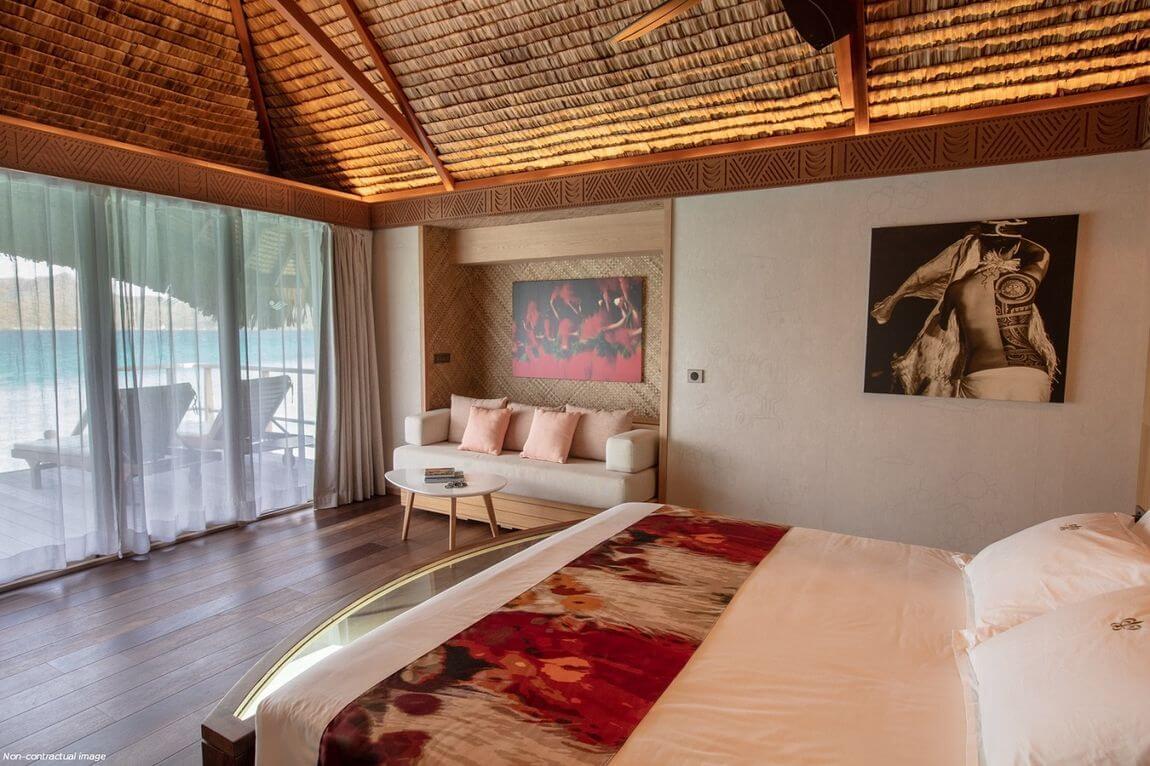Bungalow of Pearl Resort of Bora Bora