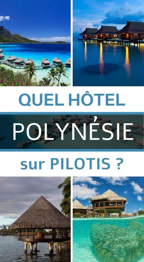 hotel pilotis polynésie