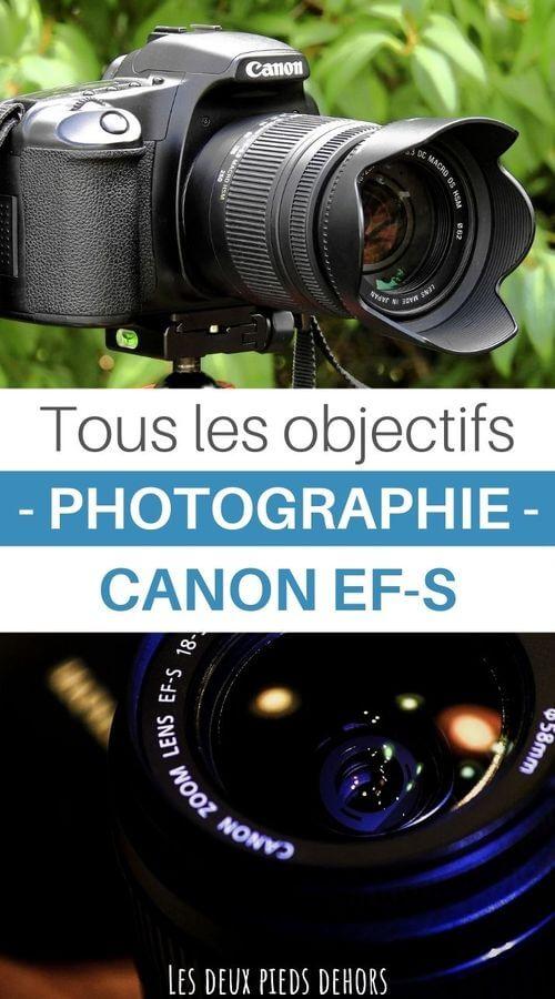guide des objectifs photo pour Canon EF-S