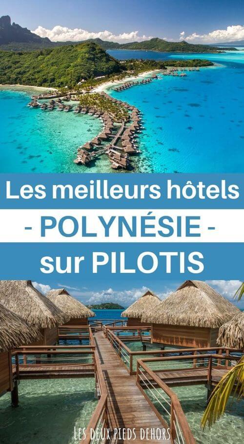 hotels sur pilotis en polynésie