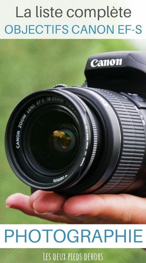 Choisir son objectif pour Canon EF-S