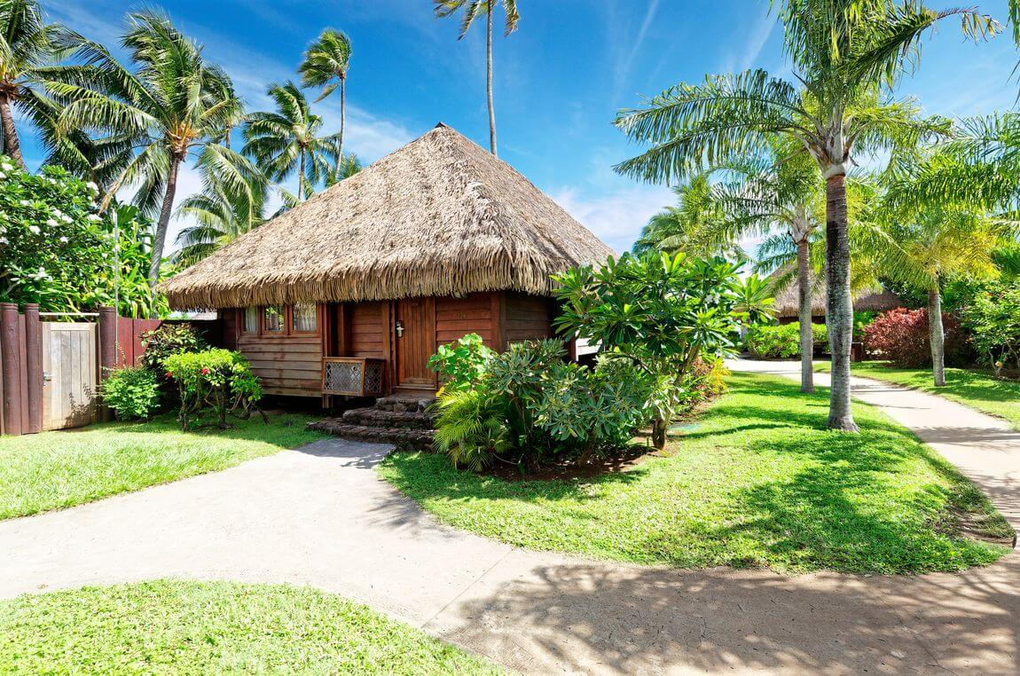 our place for 2 days in the manava of moorea
