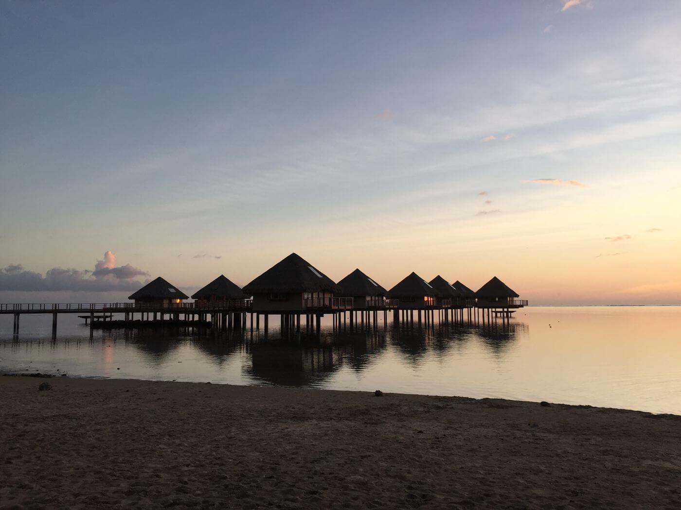 Sofitel resort in Tahiti