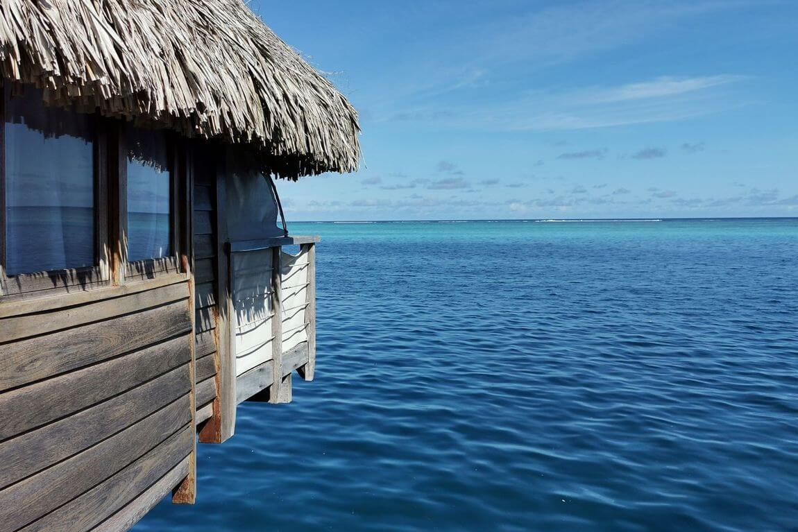 bungalows in Bora Bora