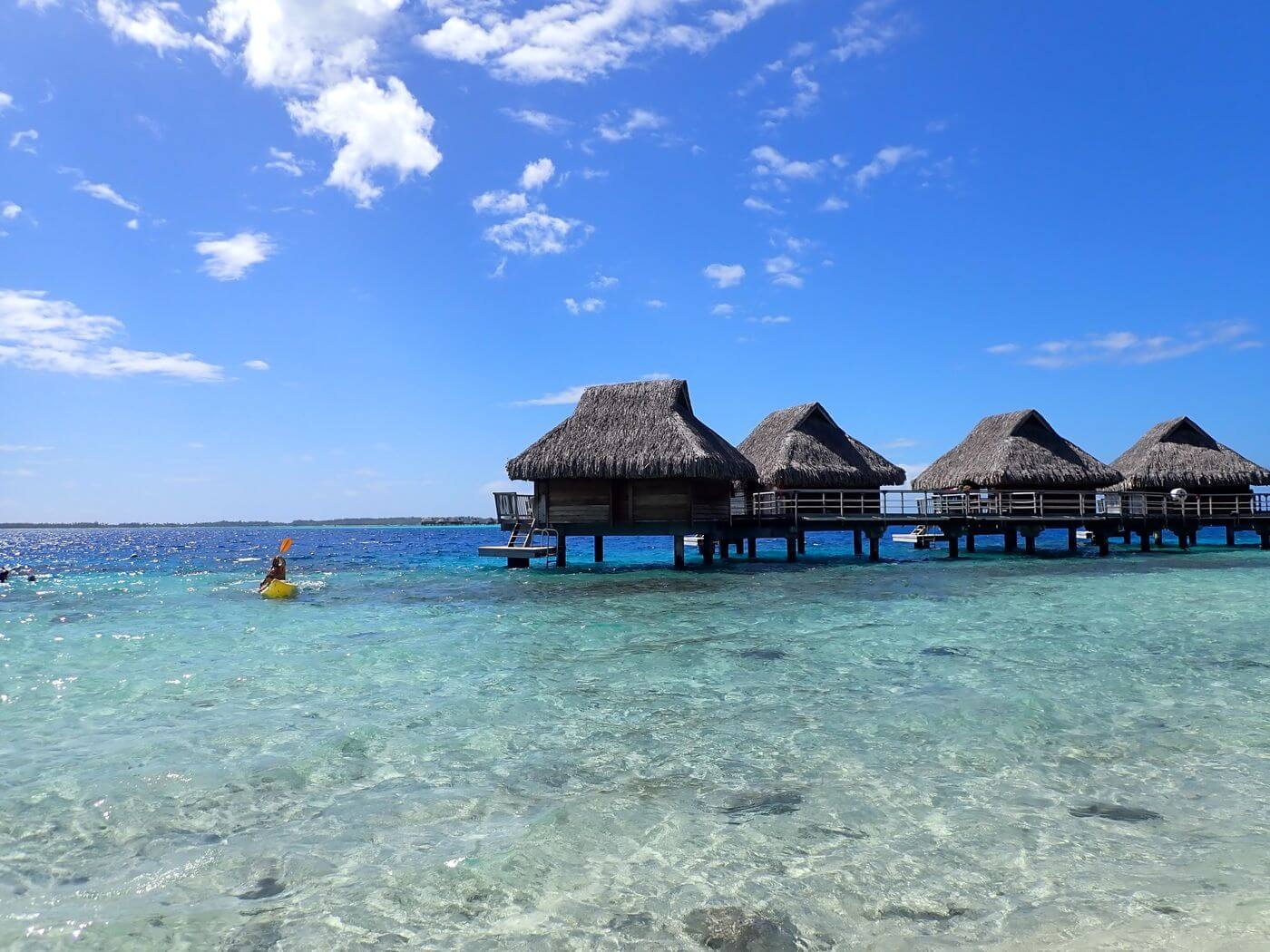example overwater bungalows