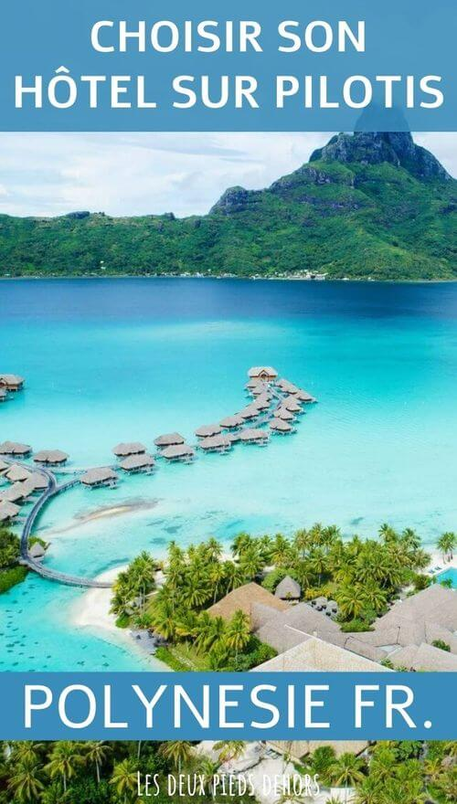 resort sur pilotis en polynésie