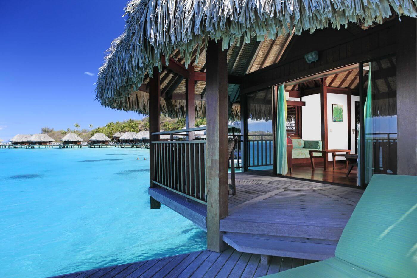 sofitel private island resort in bora bora
