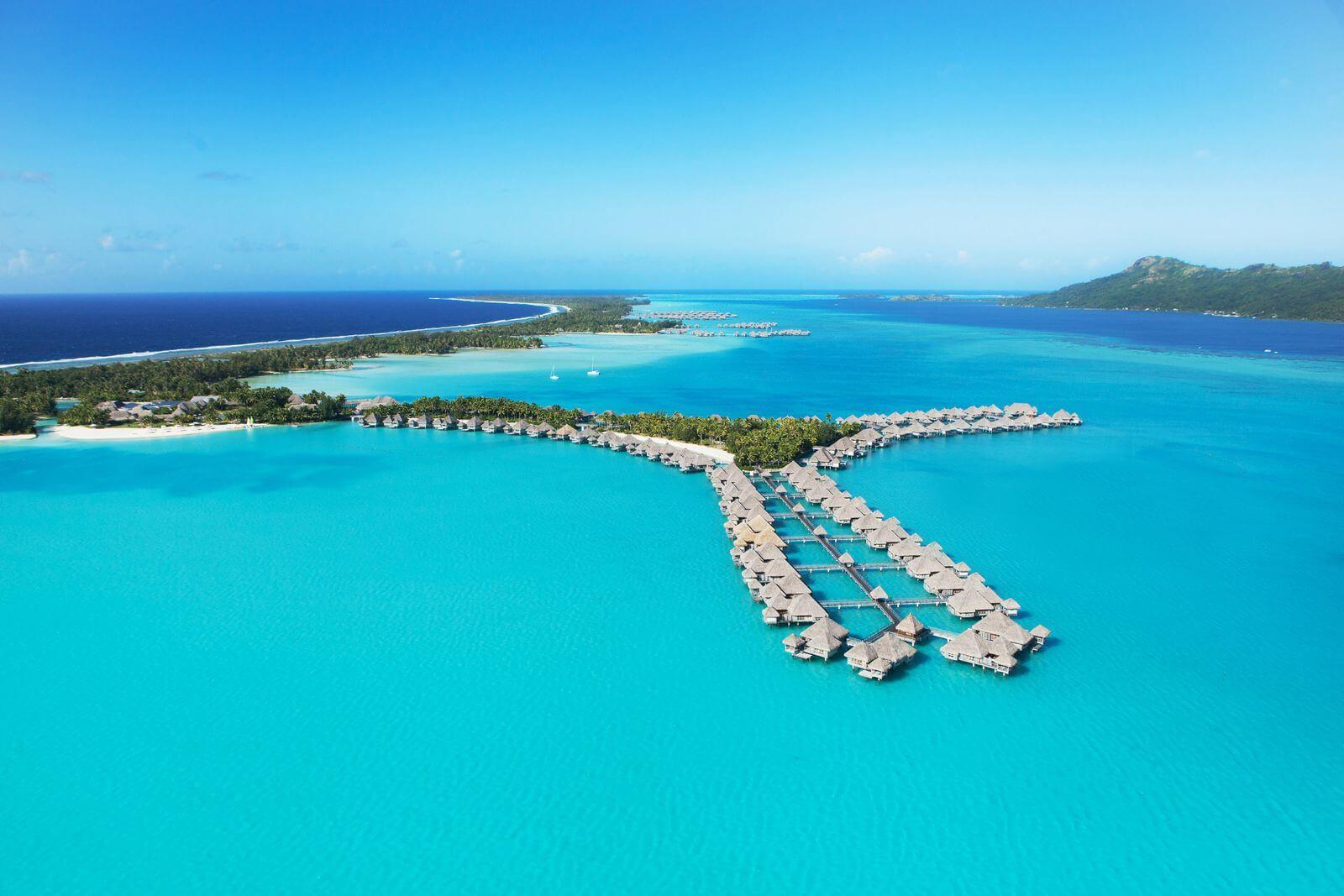 Saint Regis Bora Bora island
