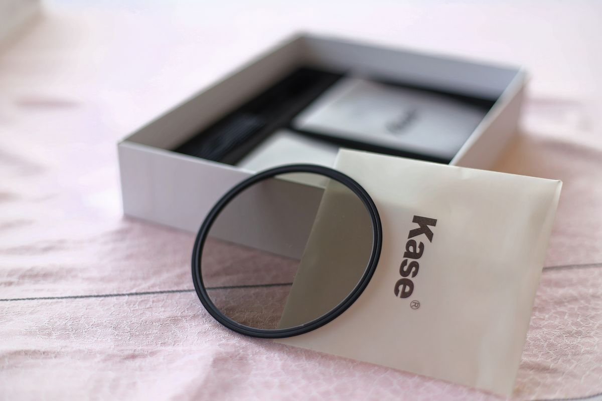 filtre polarisant kase circulaire